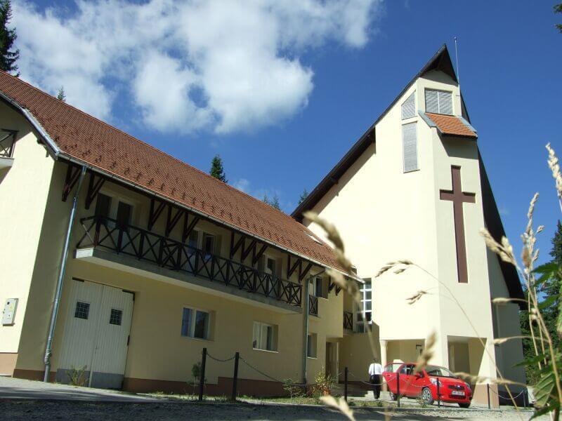 Szent István közösségi ház Hargitafürdőn