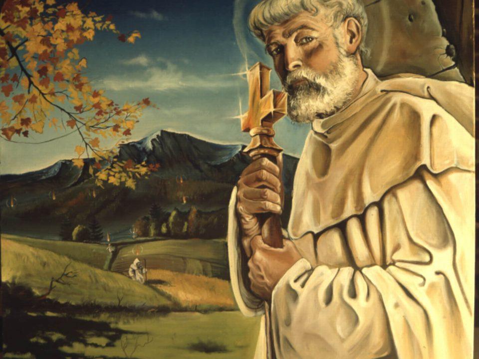 Boldog Özséb atya. Az eredeti kép Ausztráliában található.